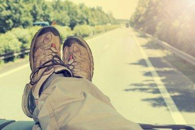 Hitch-hike travel