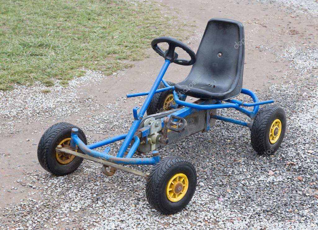 Dirty old go-kart — Stock Photo © michaklootwijk #102416914