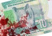 Dieci Rand sudafricano, sangue