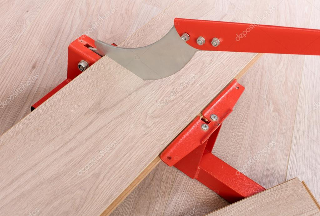Red Tool For Cutting Laminate Stock Photo Michaklootwijk 106144176