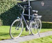 Fotografie Elektro-Fahrrad in der Sonne