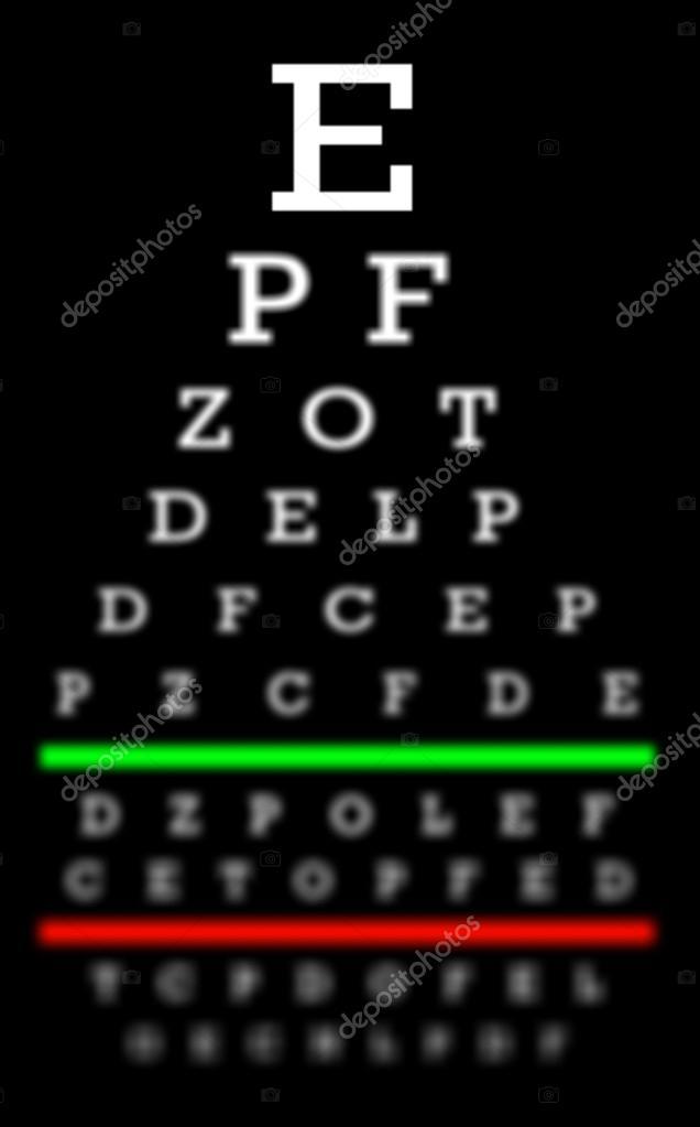 Sehkraft Konzept - gute Augen — Stockfoto © michaklootwijk #99728568