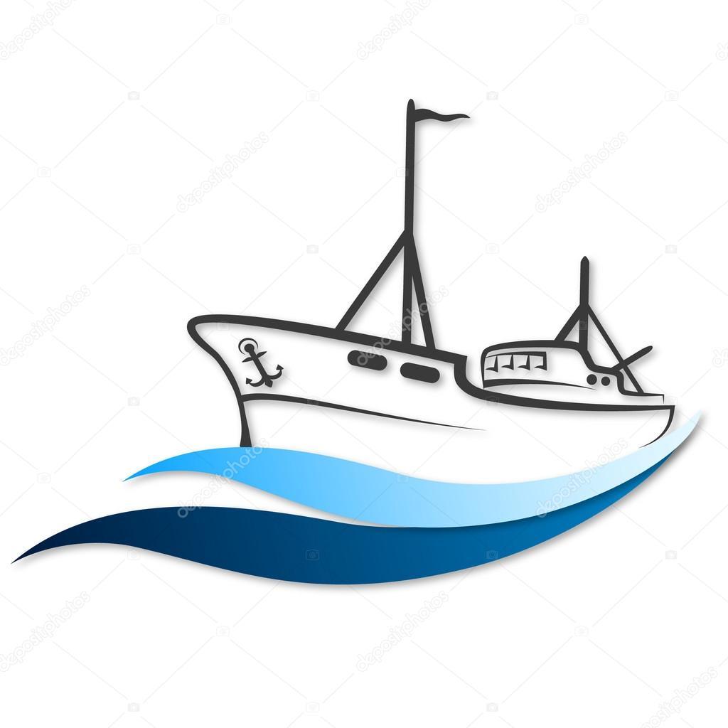 Download Fishing Boat Vector Vector Image By C John1279 Vector Stock 66532761