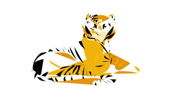 Animace ikon tygra