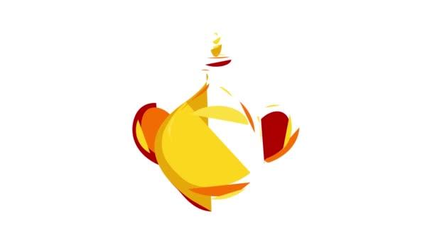 Animation zur Ikone der arabischen Vase