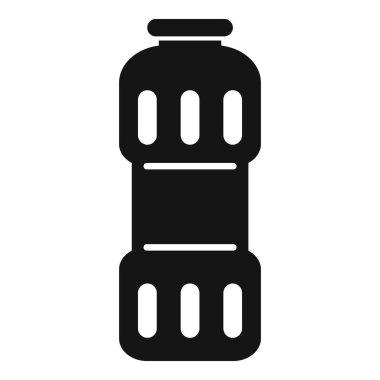 Clean powder bottle icon. Simple illustration of Clean powder bottle vector icon for web design isolated on white background icon