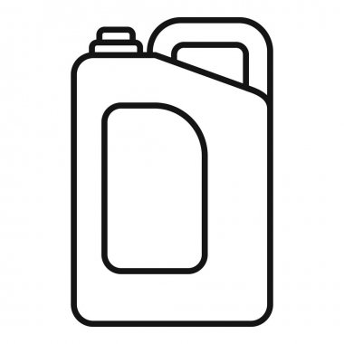 Cleaner canister icon. Outline Cleaner canister vector icon for web design isolated on white background icon