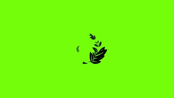 Laurel wreath icon animation