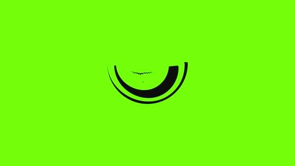 Szeletelt őszibarack ikon animáció