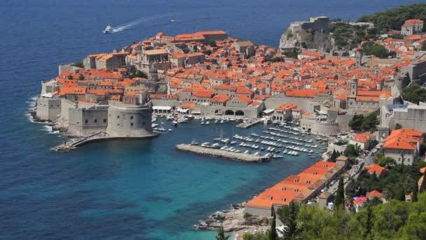 Dubrovnic staré město v Chorvatsku