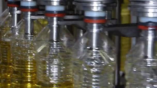 Slunečnicový olej plnící stroj
