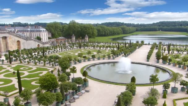 Paleis Van Versailles Tuin.Het Kasteel Van Versailles De Fontein En De Tuin In Parijs