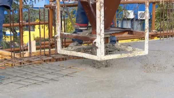 betonpumpa elhelyezése