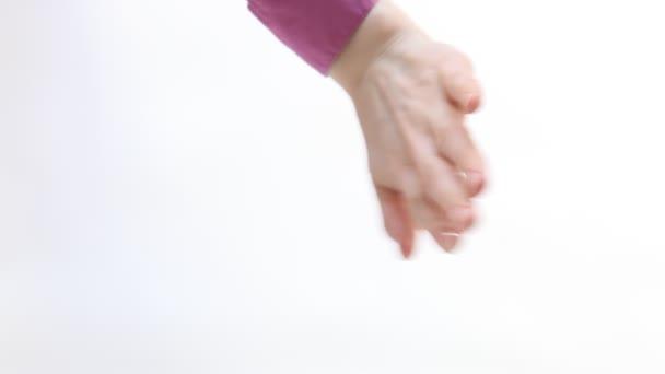 gesta rukou ženy