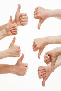 Disagreement between group of people