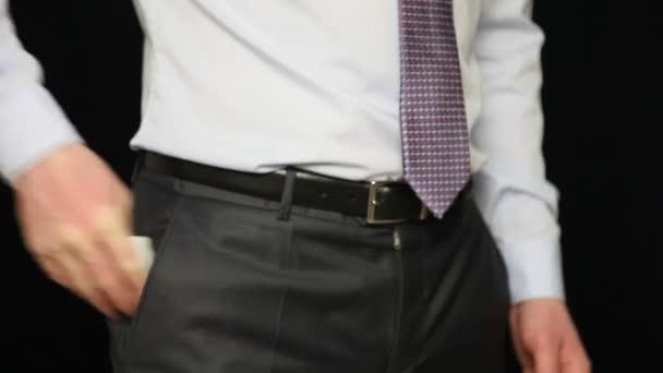 Podnikatel je ruce eurobankovky inventur