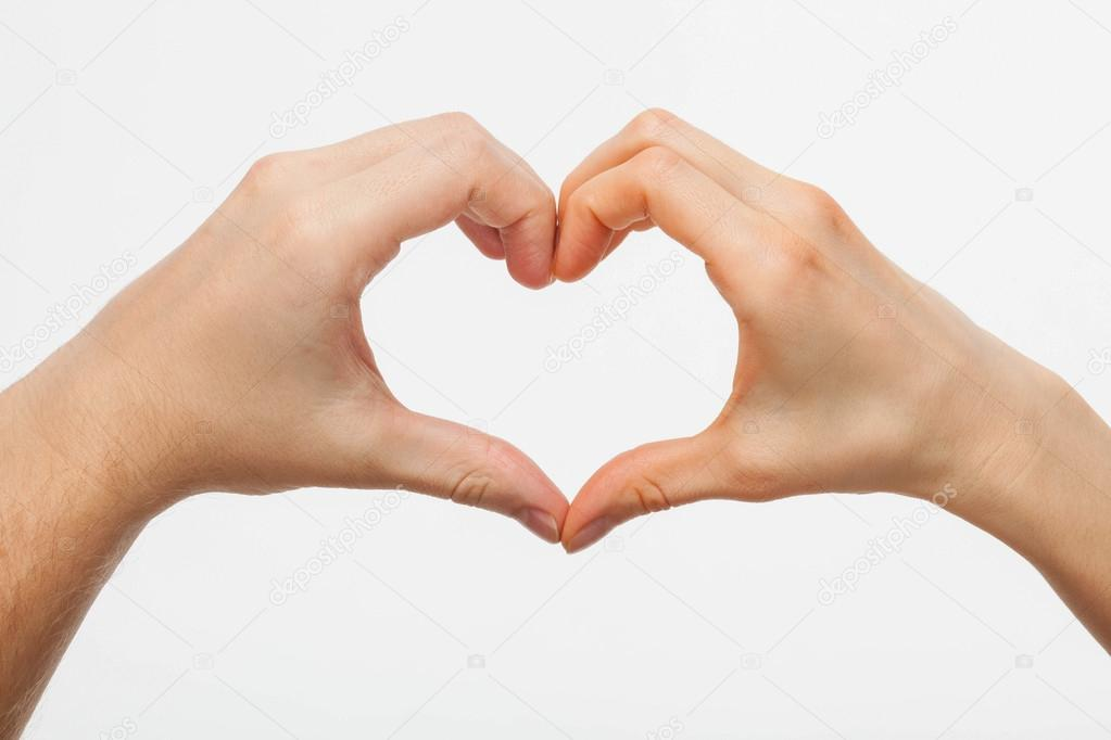 Manos Formando Un Corazón