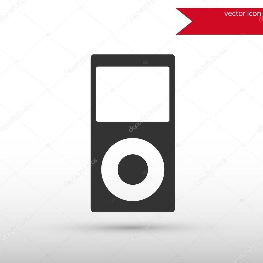 Portable media player icon.