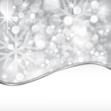 Silver shiny background