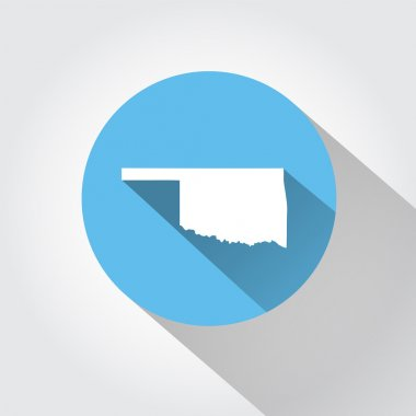 Map state of Oklahoma