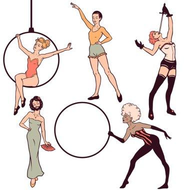 Circus girls