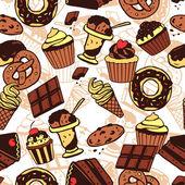 Sladká jídla vzor