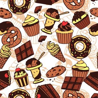 Sweet food pattern