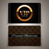 Gold VIP cards
