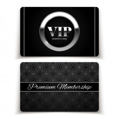 Silver VIP cards