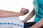 Ergotherapie-Nahaufnahmen und verschiedene Übungen