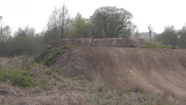 Motocross jump Gorzow Wielkopolski POLAND 24.04.2012r Training On suzuki LTZ400