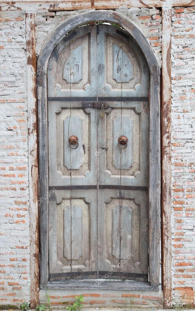 Vintage Tür vintage tür europa-stil — stockfoto © hin255 #86008018
