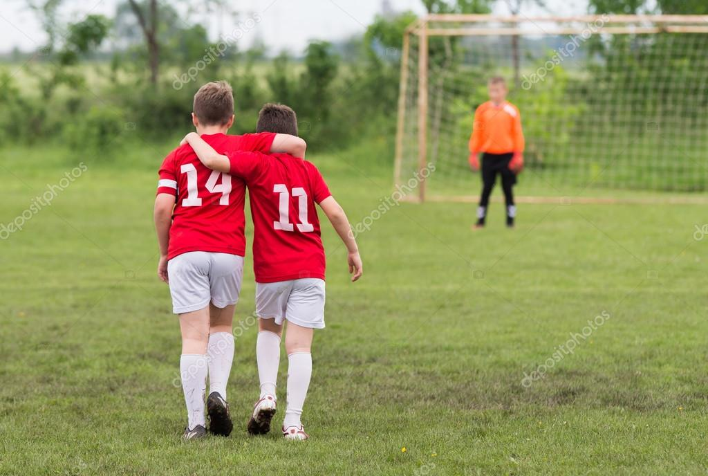 Kid soccer team