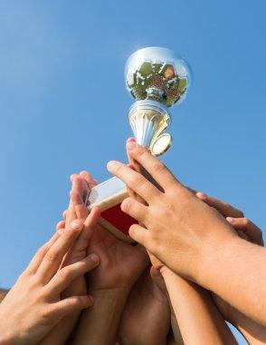 cup in soccer kids
