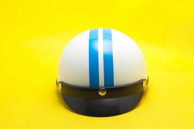 Vietnam motobike white helmet