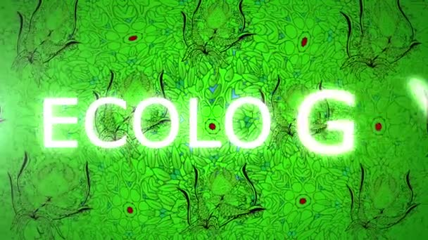 pozadí abstraktní eco