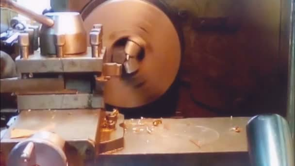 machining the workpiece on the machine