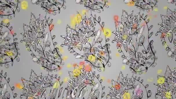 Květinové záběry pohybu