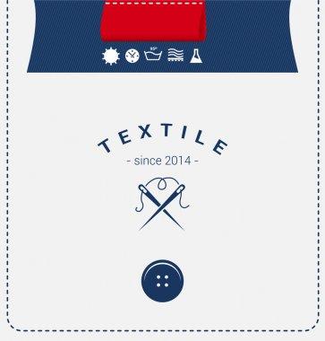 Logo template forTextile.