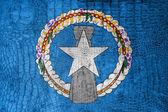 Vlajka Severní Mariany, na plátně luxusní, módní