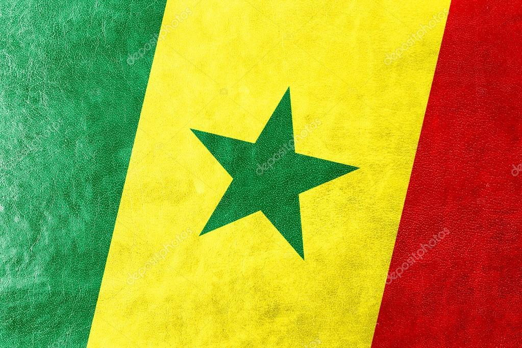 Bandera Senegal Para Pintar Bandera De Senegal Pintado En