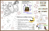 Fotografie Placemat Halloween 7 Printable Activity Sheet