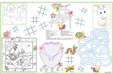 Placemat Spring and Summer 3