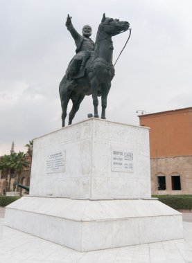 Ibrahim Pasha Statue, Cairo Citadel, Egypt