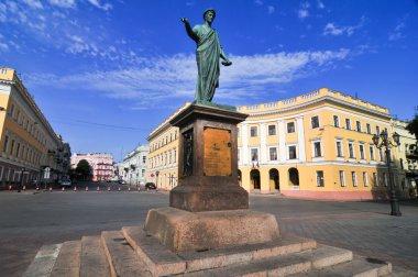 Odessa, Ukraine. Statue of Duke Richelieu