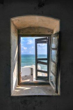 Window View from Cape Coast Castle, Ghana