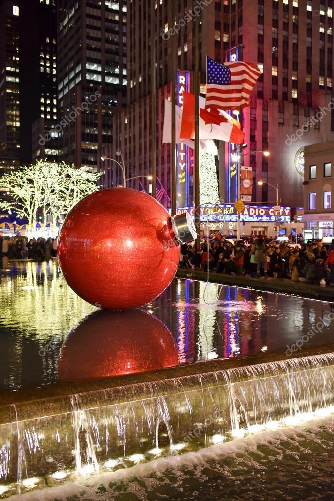 Décorations de Noël, New York — Photo éditoriale © demerzel21 #64883429