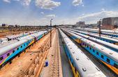 Braamfontein nádražích, johannesburg