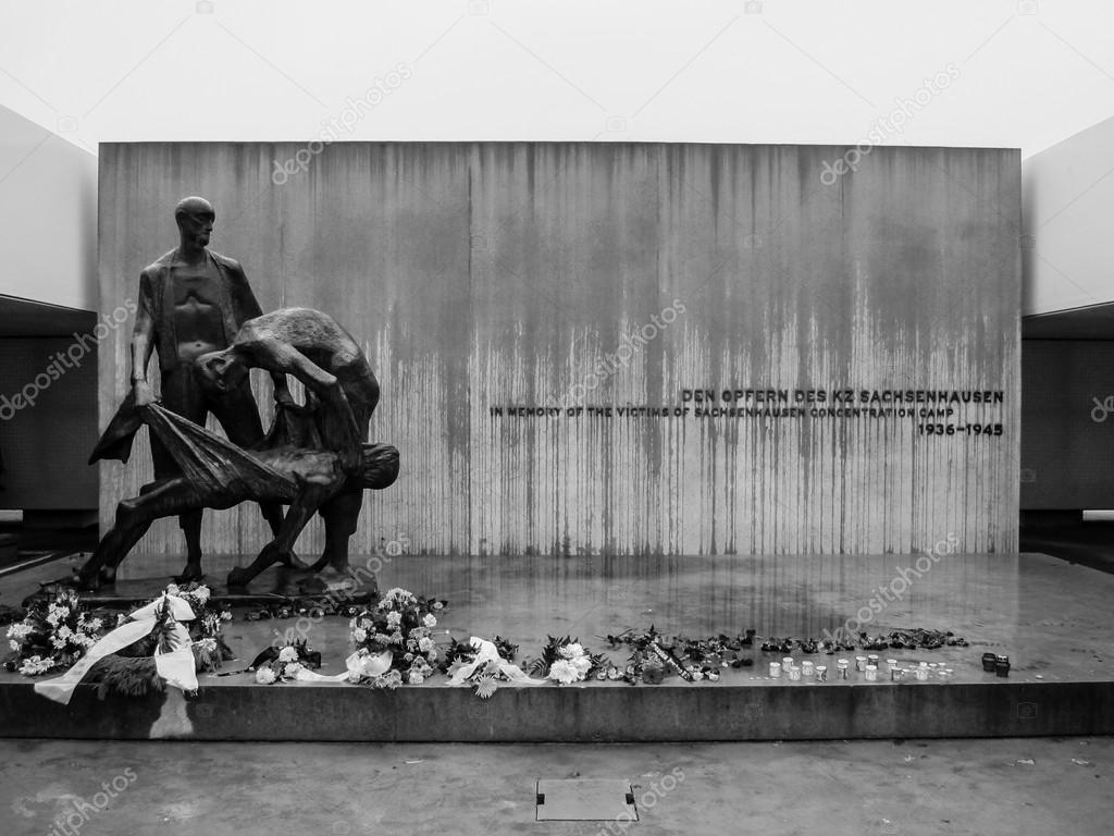 ザクセンハウゼン強制収容所 — ストック写真