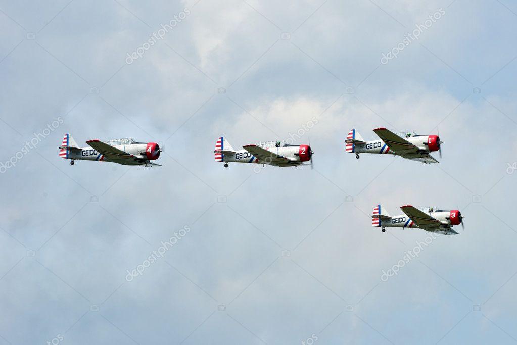 Acrobatic Air Show